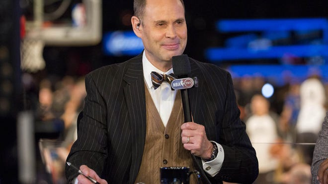 Emmy-award winning broadcaster Ernie Johnson will be leading TNT's coverage of the PGA Championship this week at Whistling Straits.