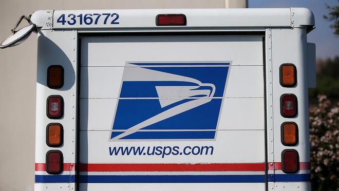 A USPS truck.