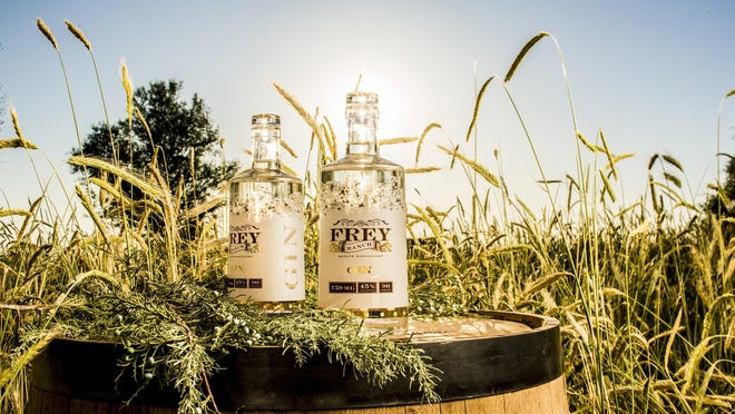 Frey Ranch Gin is the second spirit released from the Frey family's 4,600-square-foot distillery in Fallon.