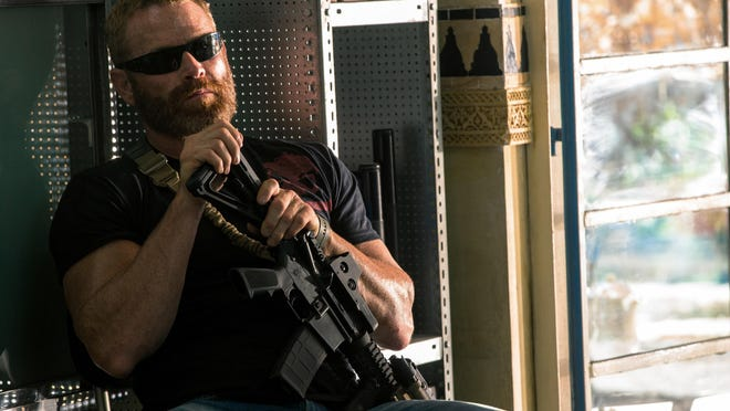 "Max Martini is seen in ""13 Hours: The Secret Soldiers of Benghazi."""