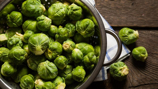 Brussels sprouts carry a sweet, nutty flavor.