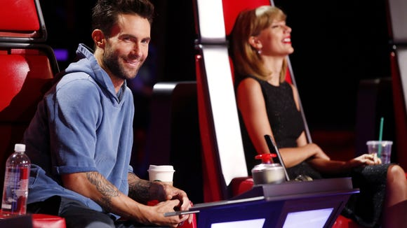 Voice Adam Levine Taylor Swift