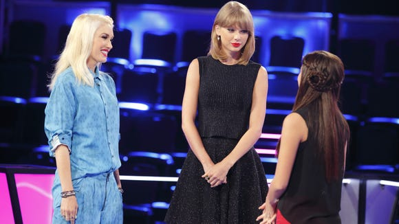 The Voice Gwen Stefani Taylor Swift
