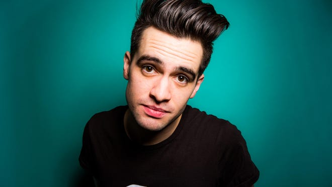 "Brendon Urie, of Panic! at the Disco, released ""Death of a Bachelor"" in January."