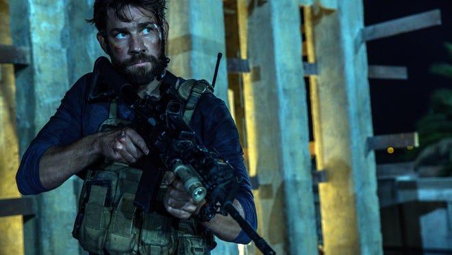 "John Krasinski plays Jack Silva in the film, ""13 Hours: The Secret Soldiers of Benghazi."""