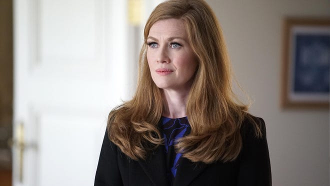 """This image released by ABC shows Mireille Enos in a scene from """"The Catch,"""" airing Thursday at 10 p.m. on ABC."""