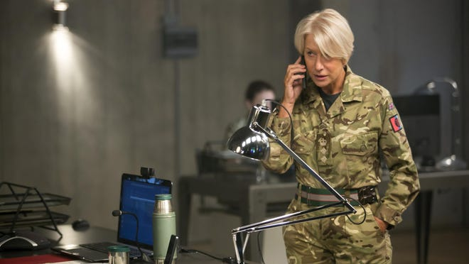 """Helen Mirren plays a British officer leading a secret drone mission from """"Eye In the Sky."""""""