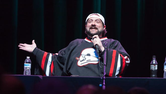 "The festival opened with the ""Fatman on Batman"" podcast hosted by filmmaker Kevin Smith."
