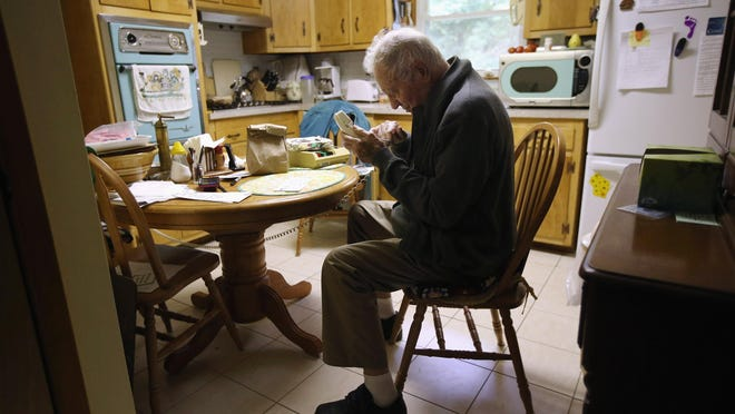 Many senior receive services like Meals on Wheels when they can't get out of their own homes.