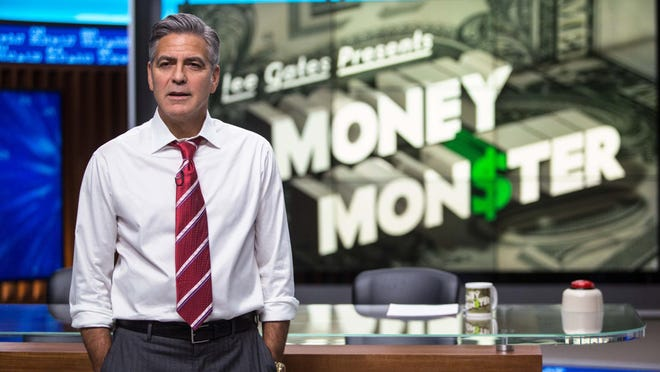 "George Clooney in ""Money Monster."""