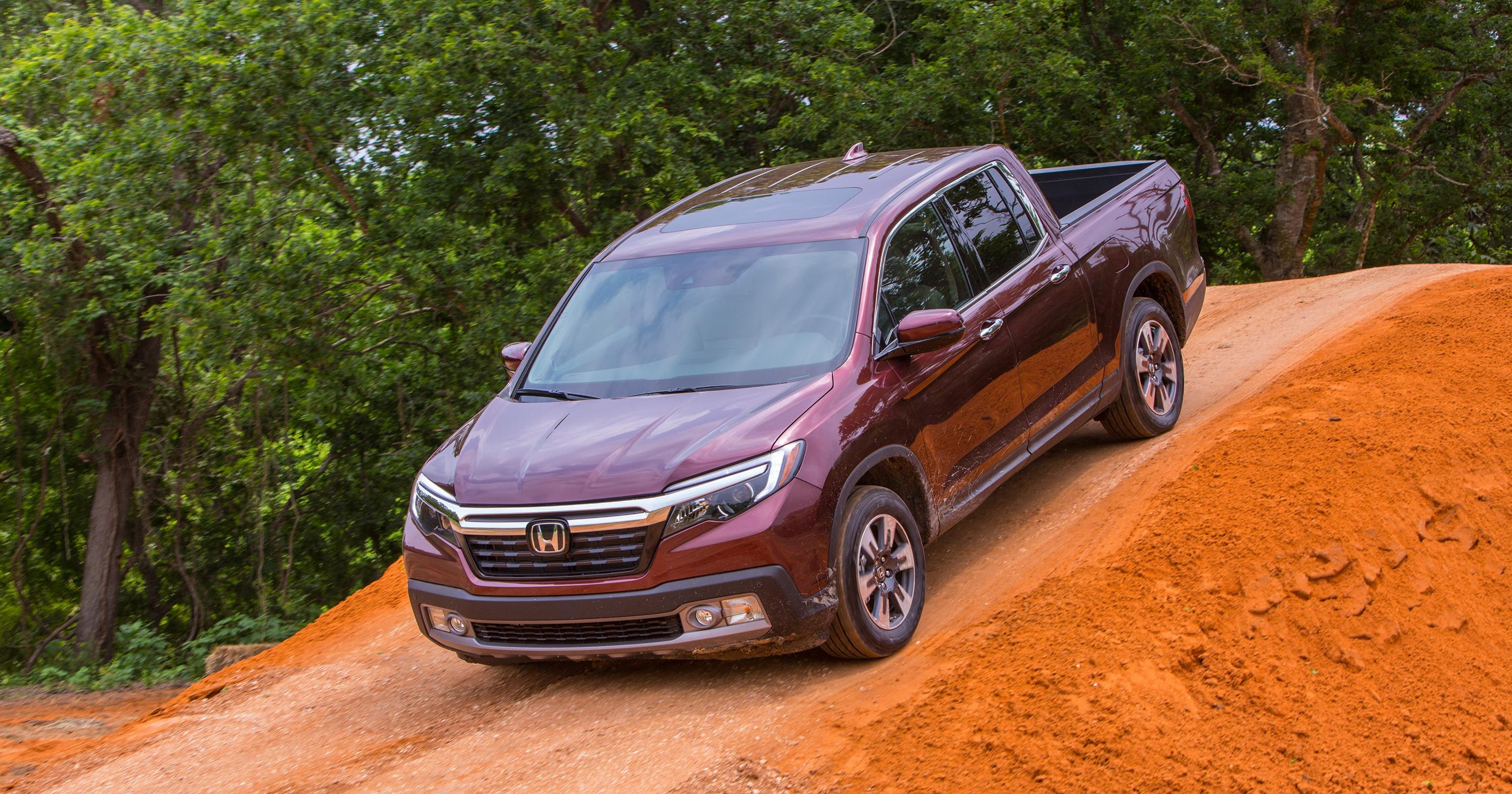Payne Honda Ridgeline The Crossover Pickup Boat Towing With