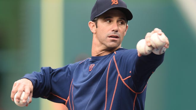 Tigers manager Brad Ausmus cautioned players about baseball's new slide rule, which came into play on Tuesday.