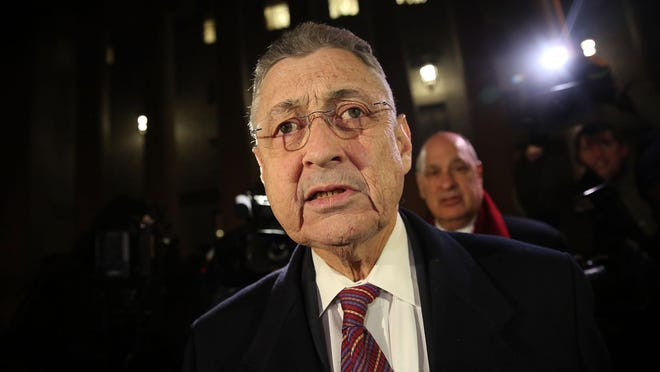 Former New York Assembly Speaker Sheldon Silver was found guilty in a corruption case on Friday.