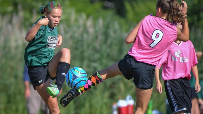More than 1,300 kids and nearly 100 teams competed in the OYSC's Soccer Saturday this weekend.