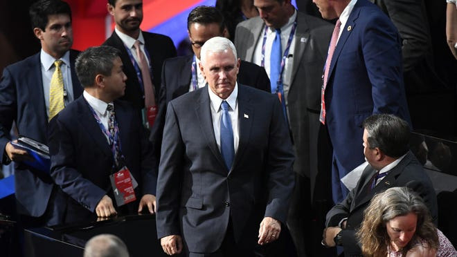 Gov. Mike Pence has been pointing to Indiana's economy as a Republican success story.