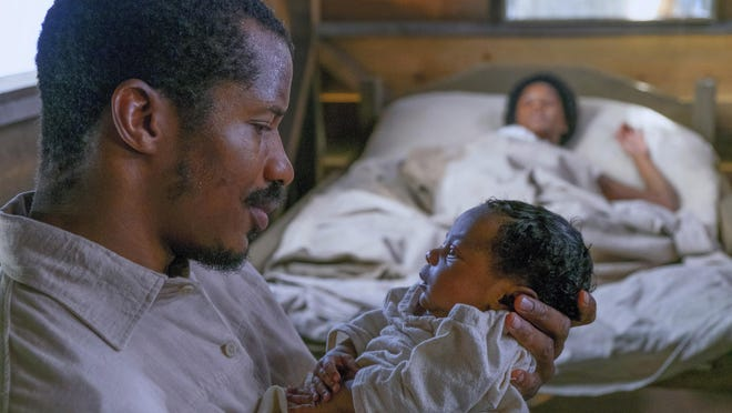 """Nate Parker appears as Nat Turner in a scene from """"The Birth of a Nation."""""""