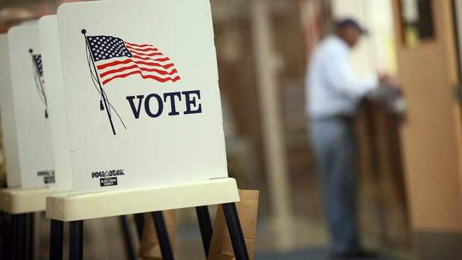 Authorities were called to a polling location in East Lansing after receiving a report of voter intimidation.