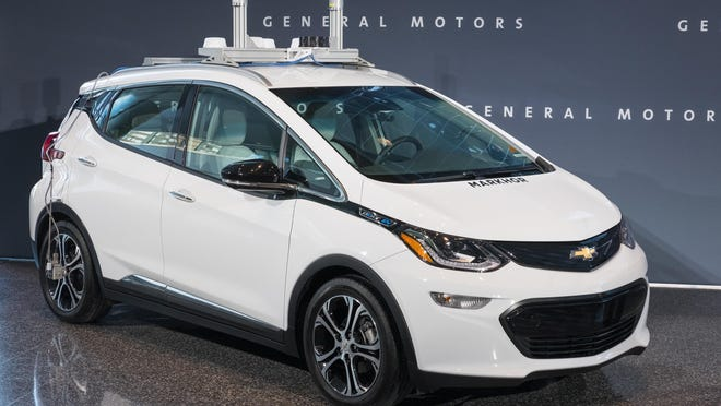 General Motors announces Thursday, December 15, 2016, it will immediately begin testing autonomous vehicles on public roads in Michigan. GM will also produce the next generation of its autonomous test vehicles at its Orion Township assembly plant beginning in early 2017. Testing is already underway on public roads in San Francisco and Scottsdale, AZ. (Photo by Steve Fecht for General Motors)