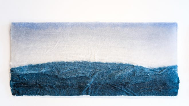 """Jessi Moore uses glass as her medium in """"Endless,"""" a new exhibit opening Friday at the Arts Council of the Southern Finger Lakes."""