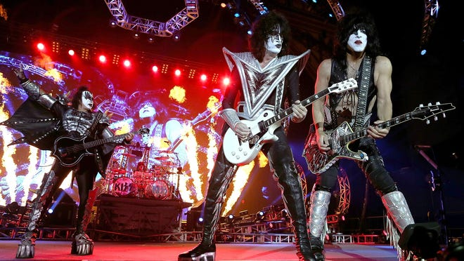 Kiss is coming to Riverbend Music Center in August. Tickets go on sale Dec. 3.