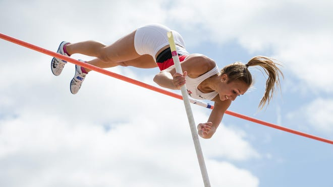 Wrightstown native Bonnie Draxler will compete for San Diego State in the pole vault at the NCAA Track and Field Championshps.