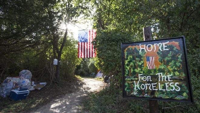 A homeless community has been established in the woods off Route 9 in Howell. Most of those living in the camp were former residents of tent city in Lakewood. Ocean County does not have a homeless shelter.