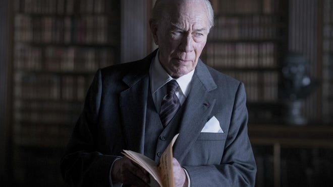 """This image released by Sony Pictures shows Christopher Plummer in a scene from """"All the Money in the World."""" (Giles Keyte/Sony Pictures via AP)"""