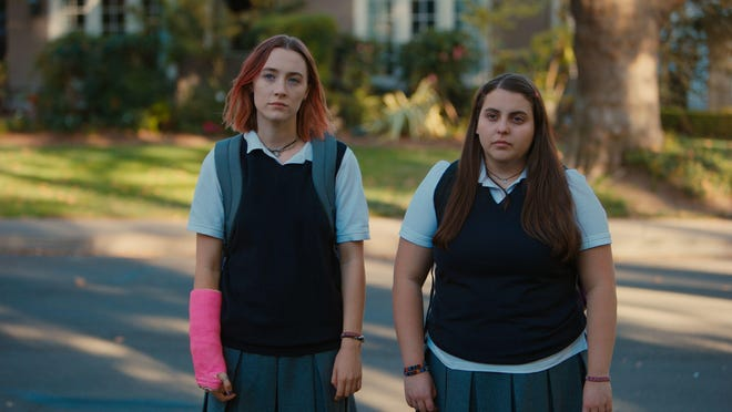 "Saoirse Ronan and Merie Wallace in ""Lady Bird."""