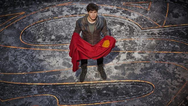 "Cameron Cuffe as Seg-El in the new series ""Krypton."""