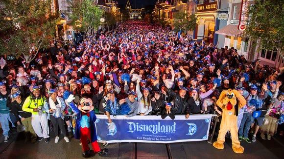 Disneyland Kicks Off Diamond Anniversary Celebration With 24 Hour Party