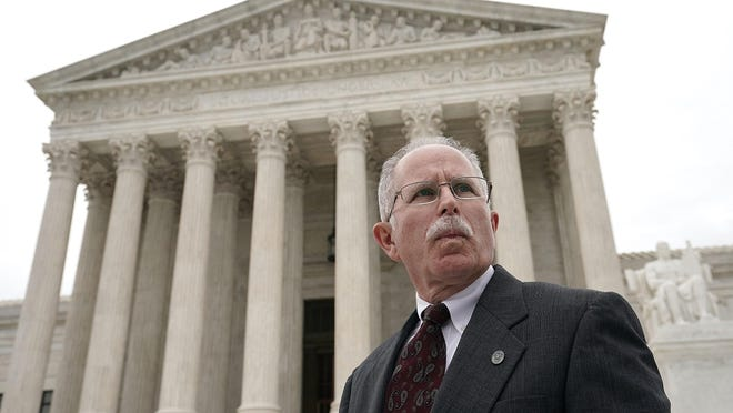 The U.S. Supreme Court ruling in favor of plaintiff Mark Janus' case regarding a violation of employees' First Amendment rights by requiring them to join public sector unions is seen as a blow to the power of unions.