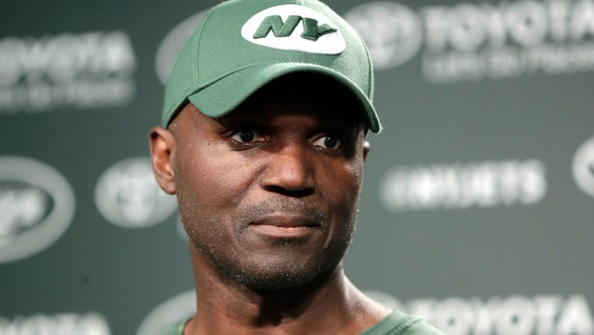 New York Jets coach Todd Bowles on June 5, 2018.
