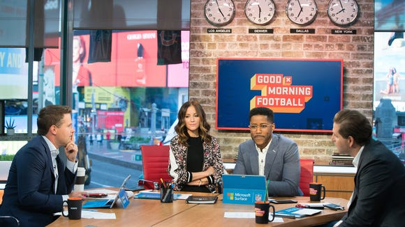 What makes 'Good Morning Football' work, according to its stars