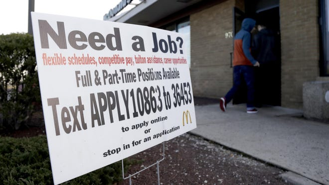 U.S. businesses added a solid 213,000 jobs in January, a private survey found, a sign the partial government shutdown and trade war concerns aren't discouraging companies from hiring more people.