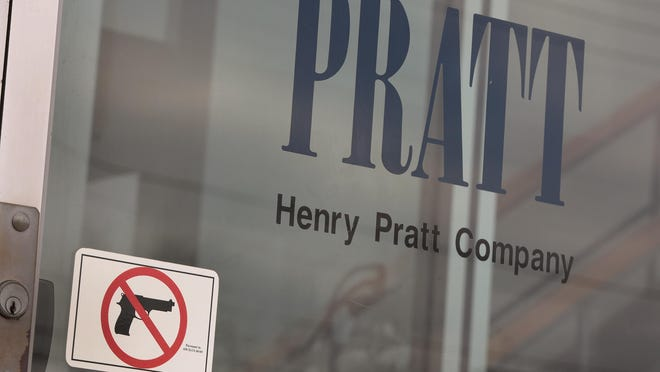 One caller in the Feb. 15 recordings tells the dispatcher that he's hiding in the Henry Pratt Co. facility in Aurora and pleads for help to be sent quickly.
