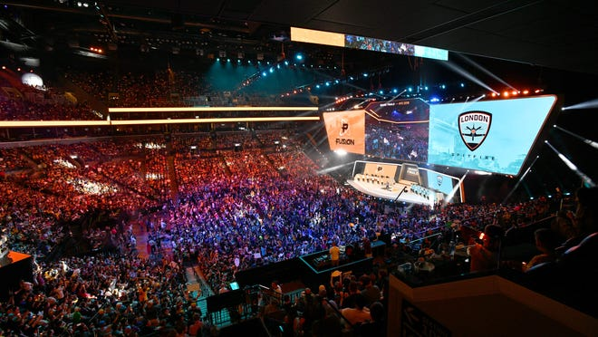 2018 Overwatch League Grand Finals at Barclays Center.