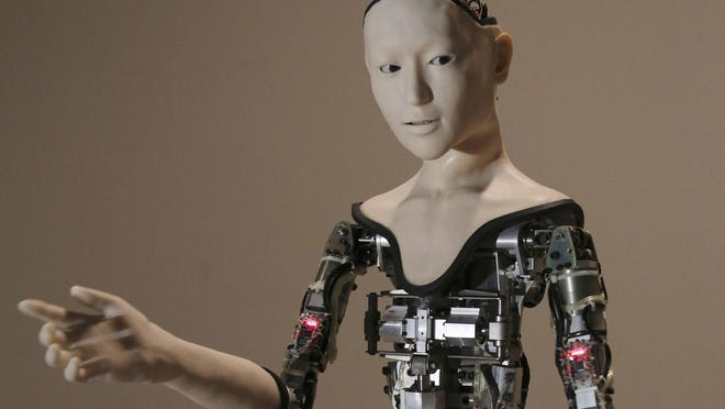 """Research shows that people tend to project human traits onto robots, especially when they act even vaguely like humans. """"Simulated thinking might be thinking, but simulated feeling is never feeling. Simulated love is never love,"""" says MIT professor Sherry Turkle."""