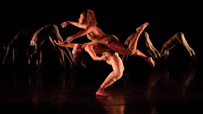 Pilobolus dance group will be on stage at Wharton on Oct. 30.