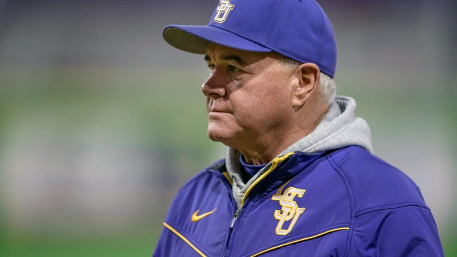 LSU baseball coach Paul Mainieri may lose one of his top commitments for his class of 2021 as catcher Drew Romo of The Woodland, Texas, was selected with the 35th overall pick of the Major League Baseball Draft on Wednesday night.
