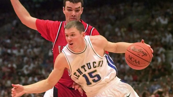 Jeff Sheppard played in fewer than 20 NBA games after leading Kentucky to the 1998 NCAA national championship. Sheppard is one of many Final Four MVPs that didn't pan out in the NBA.