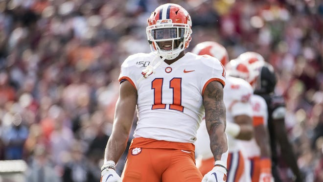 Clemson versatile linebacker Isaiah Simmons is built for today's NFL. Simmons is expected to be a top-10 pick. The Giants, who pick No. 4, reportedly have an interest in Simmons.