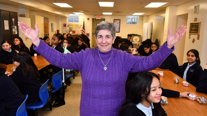 Sister Yliana Hernandez is the principal of the Nora Cronin Presentation Academy. The academy is a private Catholic middle school for underserved girls in the City of Newburgh.
