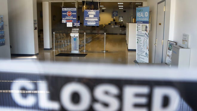 PennDOT driver license and photo centers such as this one in Butler County will be closed Sept. 5 to 7 in observance of Labor Day.