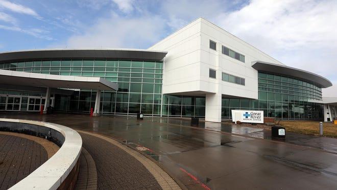 Great River Medical Center entrance is shown in 2020 in West Burlington.