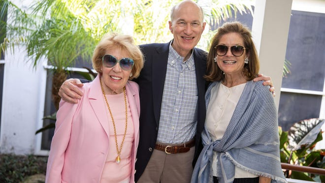 Beth Dater with Richard and Lucile Glasebrook