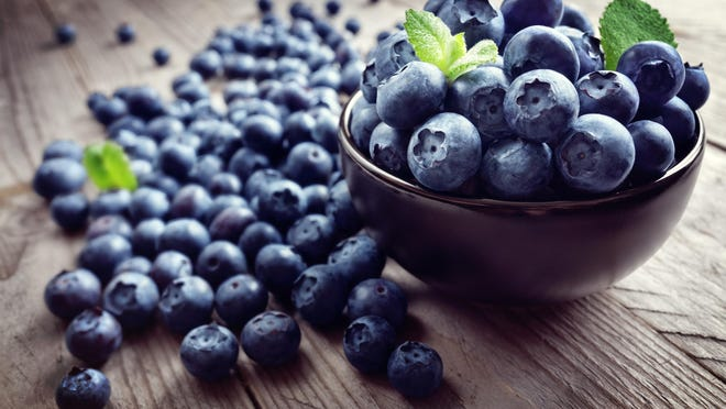Blueberries are bursting with vitamins and minerals -- many of which are classified as antioxidants.