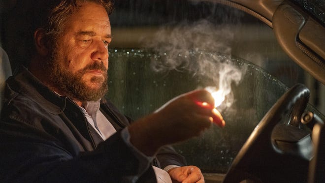 """Russell Crowe in a scene from """"Unhinged."""""""