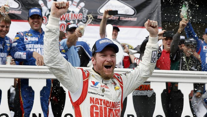 Dale Earnhardt Jr. is joining his father and grandfather in the NASCAR Hall of Fame.