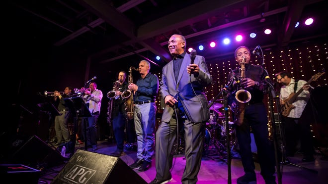 Prime Time Funk is seen in concert from before the coronavirus era. The 10-piece band has a new video out for a song with a timely topic.