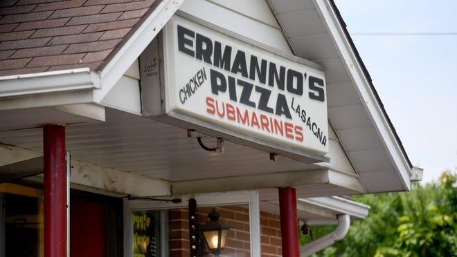 Ermanno's Pizza in Nimishillen Township.